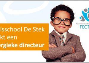 Gezocht: nieuwe directeur op De Stek